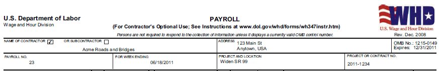 Wh 347 Form To Payroll Xml Example